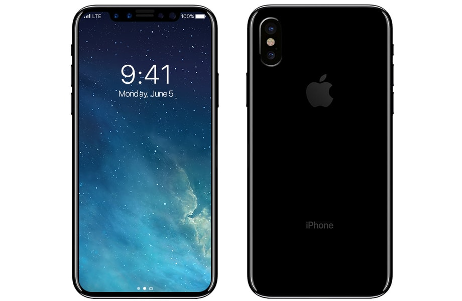 The picture of iPhone 8 design