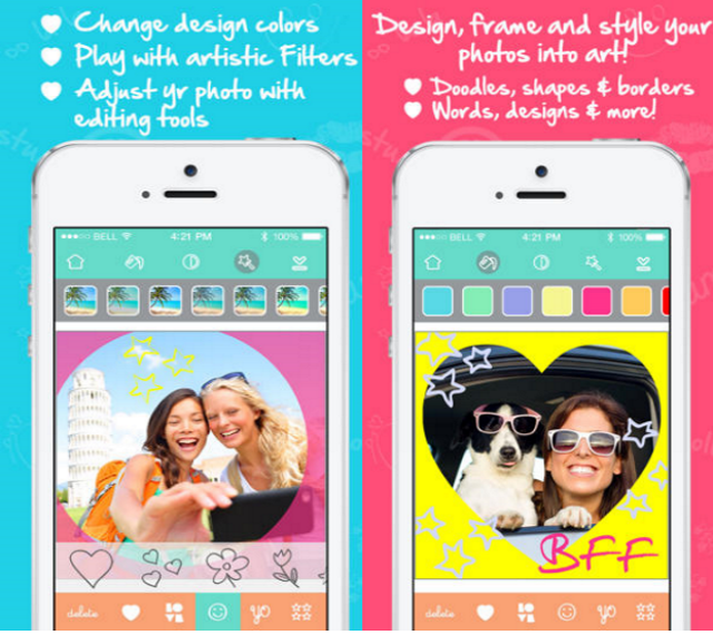 Mobile application LoveCam