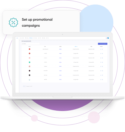 Get detailed monthly analytics