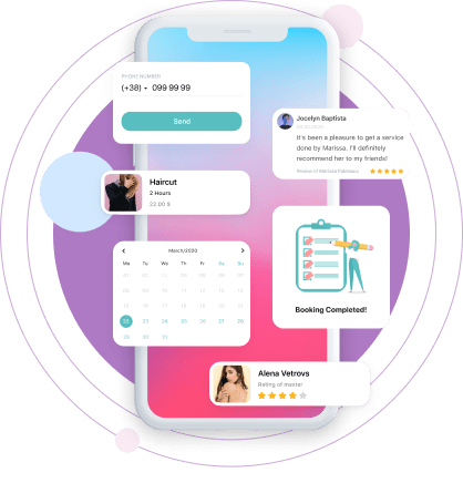 Build your own exclusive salon booking apps