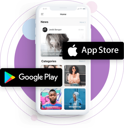Get your beauty salon listed on App Store and Google Play